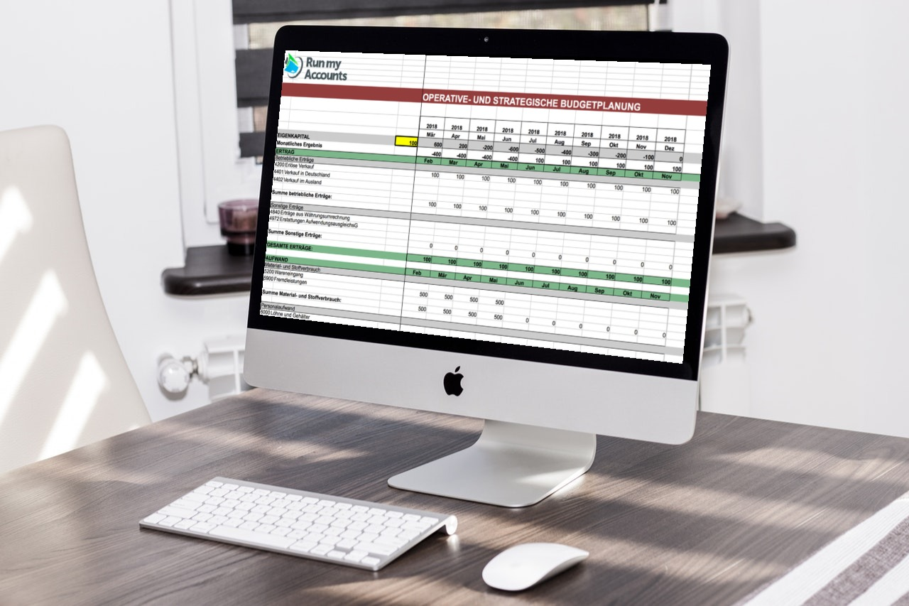 Gratis Download Excel-Budget-Vorlage