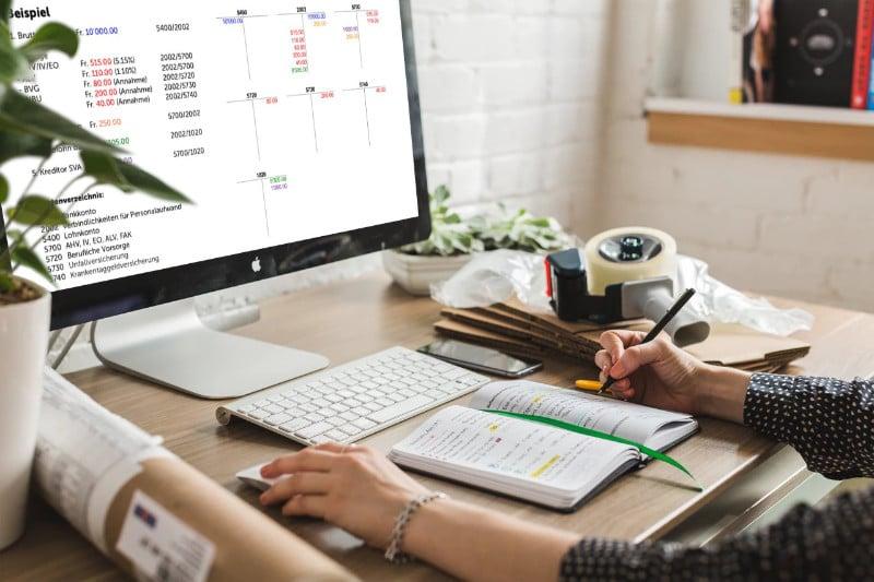 Lohnbuchungs-Methoden Run my Accounts