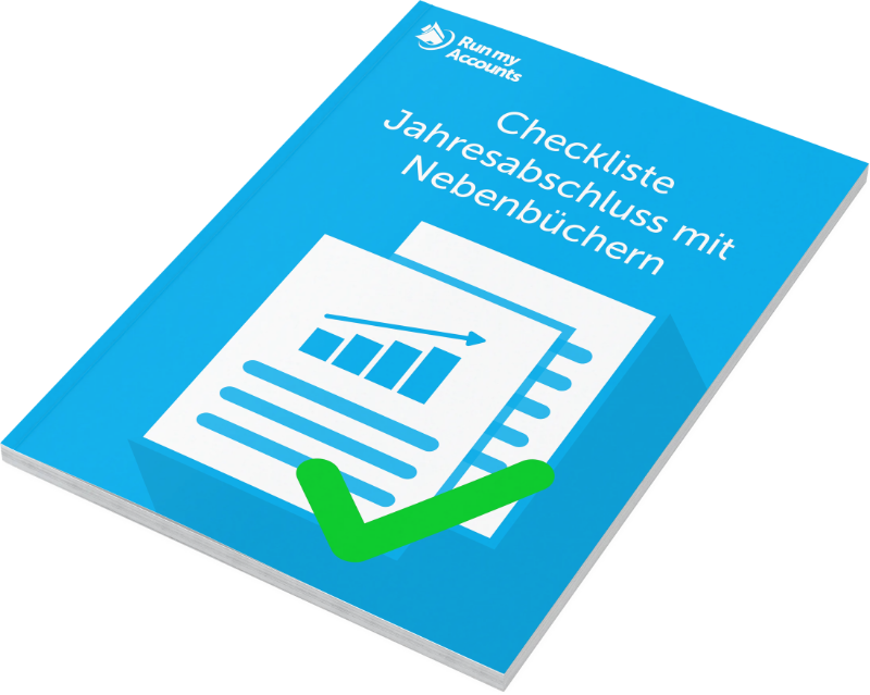 Checkliste Jahresabschluss mit Nebenbüchern